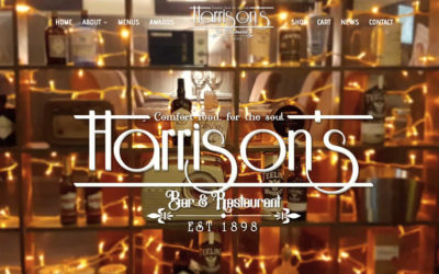 New Website www.harrisonsbarandrestaurant.com