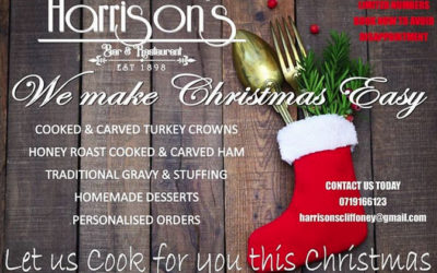 Let Us Cook For You This Christmas